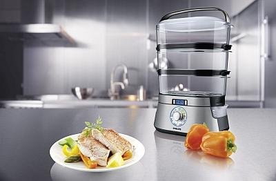 Aparatul de gătit cu aburi Philips HD9160