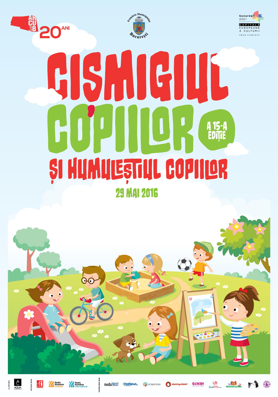 Cișmigiul Copiilor și Humuleștiul Copiilor se deschid  în 29 mai