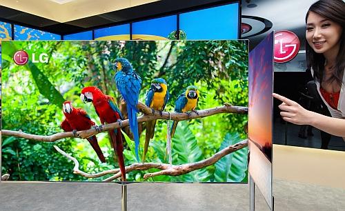 LG pariază pe televizoarele OLED