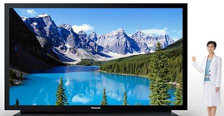 Televizor cu plasmă de 1 milion de dolari