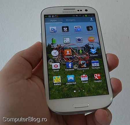 cel mai tare smartphone samsung galaxy s3