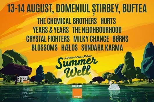 Summer Well 2016 – un festival eco, muzică bună și noi experiențe digitale într-o atmosferă de vacanță
